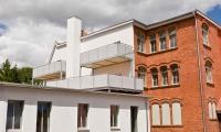 Musterei - Dachterrassen - Ansicht vom Innenhof