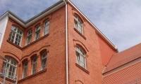 Musterei - Fassade - Ansicht vom Innenhof