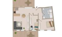 Grafikplan Wohnung 18