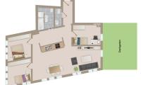 Grafikplan Wohnung 5