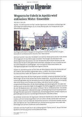 Pressestimmen - Thüringer Allgemeine